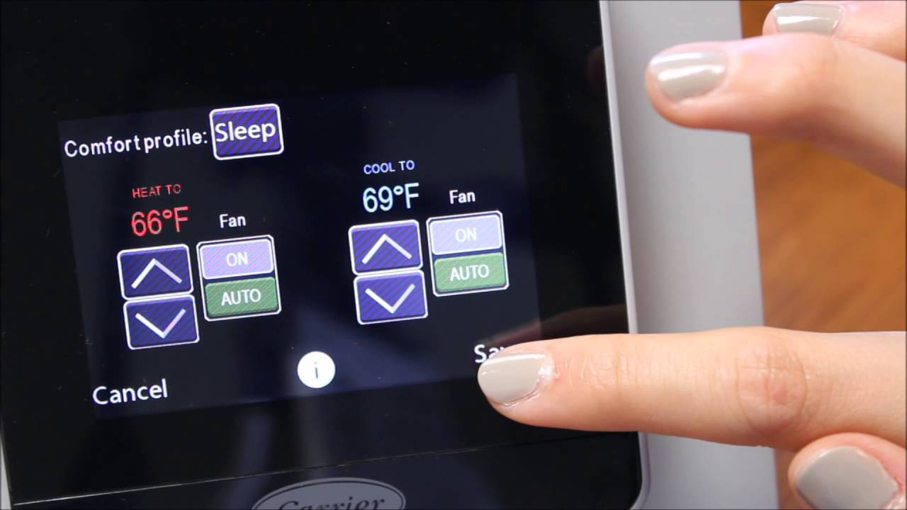 cor wifi thermostat wiring diagram how to use the carrier cor thermostat youtube  how to use the carrier cor thermostat