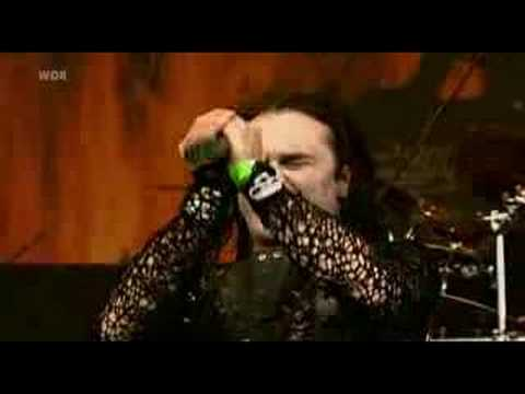 Cradle of Filth : Gilded Cunt LIVE rock am ring