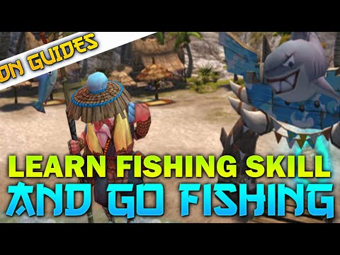 How To Learn Fishing Skill In Dragon Nest SEA