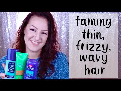 best styling products for frizzy hair favorite products for frizzy wavy hair l finding 2658 | hqdefault