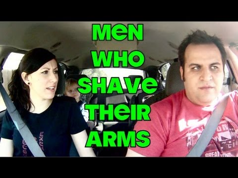 Agree, this Men shaved arms are not