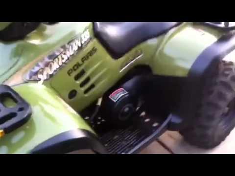 2000 Polaris Sportsman 335 - YouTube