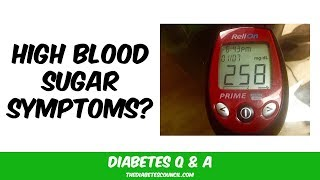What Does High Blood Sugar Feel Like?