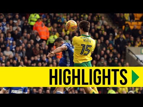 HIGHLIGHTS: Norwich City 1-1 Ipswich Town