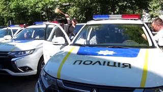 Підрозділам Нацполіції в Житомирській області передали 18 позашляховиків «Mitsubishi Outlander»