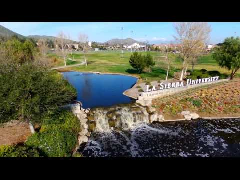 Aerial Tour of La Sierra University