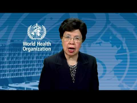 Message from Dr Margaret Chan, Director General of WHO for the 4th UN Global Road Safety Week