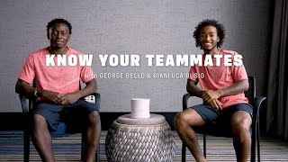 Know Your USMNT Teammate: Gianluca Busio & George Bello
