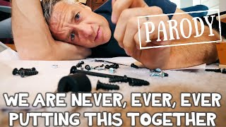 Download We Are Never Ever Putting This Together // Taylor Swift Parody feat. What's Inside Mp3 and Videos