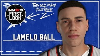 NBA 2K19 - How, Um LaMelo Ball (Version 2) (Realistische Jumpshot)