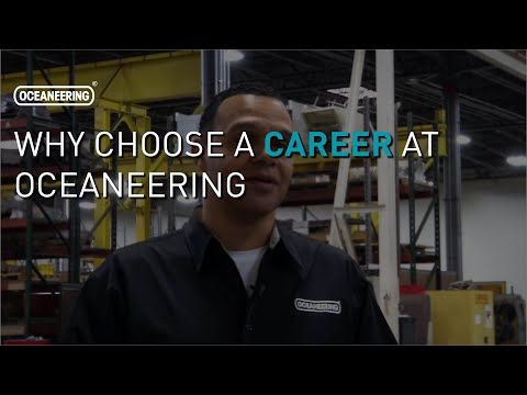 Why Choose a Career at Oceaneering | Oceaneering