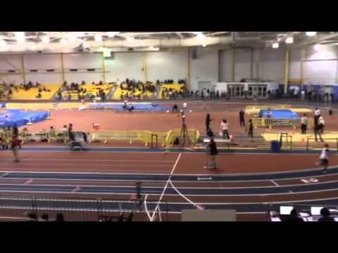 Suitland HS Track 1/16/14 800m Antony Collington