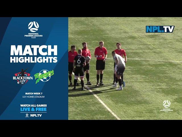 NPL NSW Men's Round 7 – Blacktown City v Mt Druitt Town Rangers