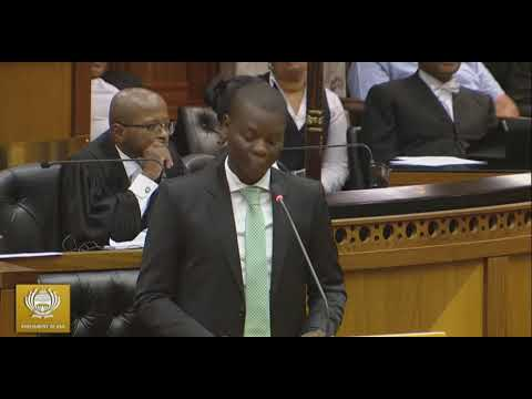 Ronald Lamola Lashes The EFF  #SONADebate