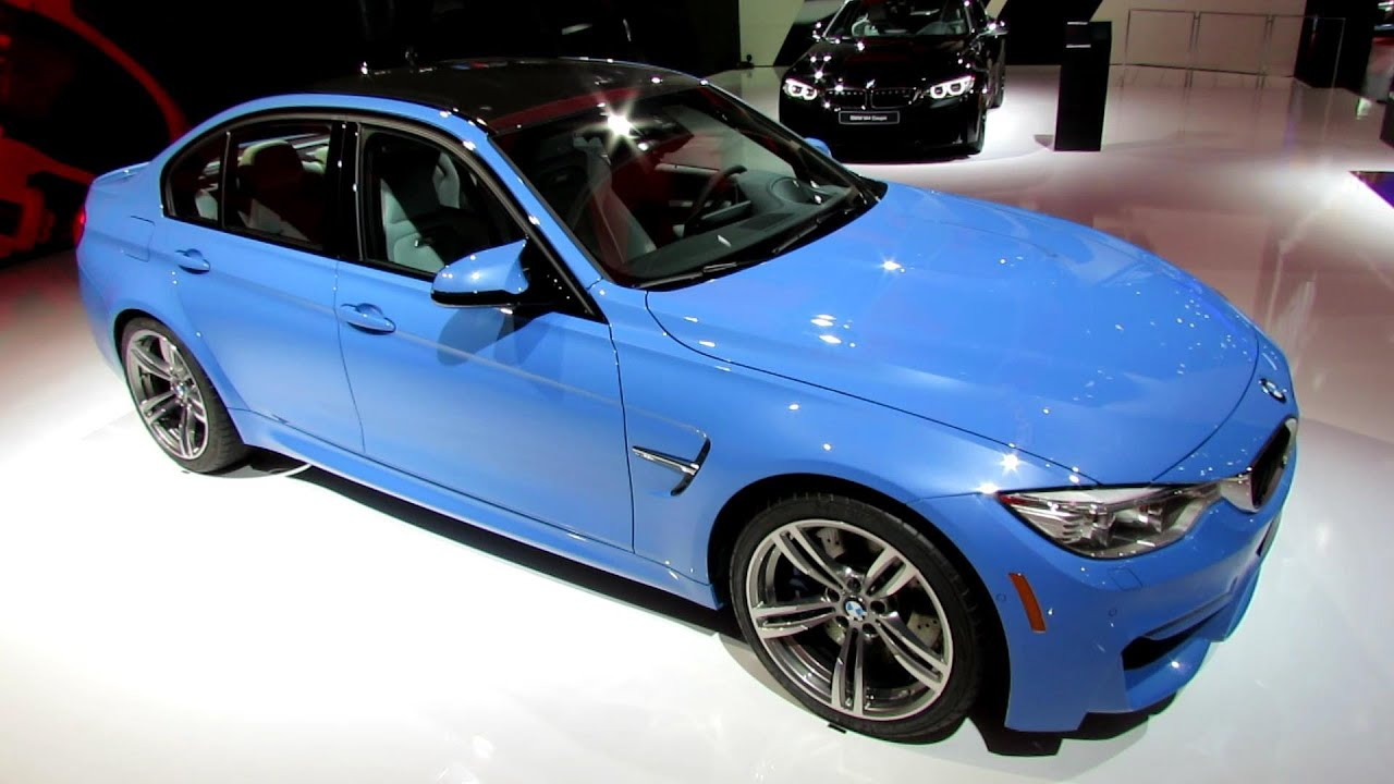 bmw 2015 red interior. 2015 bmw m3 sedan exterior and interior walkaround debut at 2014 detroit auto show youtube bmw red