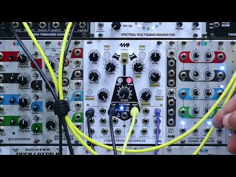 Stereo Triggered Sampler (STS) - Recording: Part 1/2