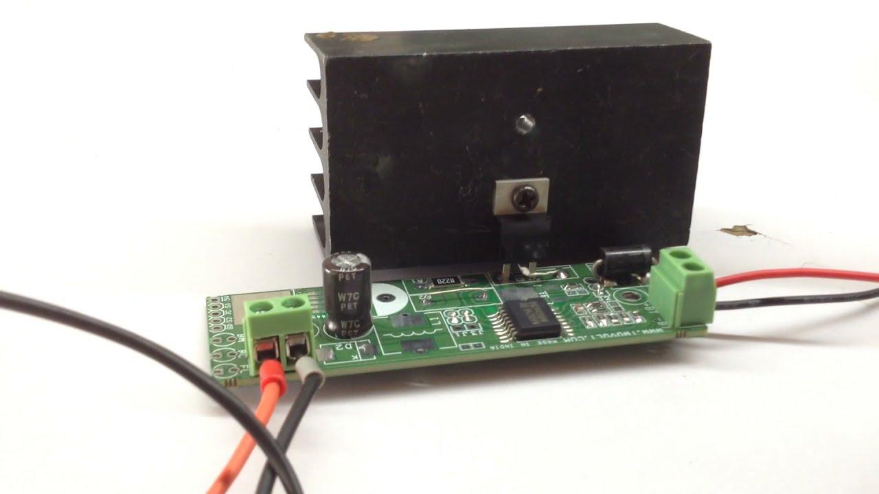 12v lead acid battery charger circuit using bq24450 [ 1280 x 720 Pixel ]