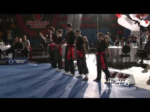 AUSTRIAN CHINESE WUSHU ASSOCIATION ACWA - FIGHTERSWORLD SUPERSHOW 2012