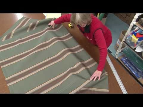 How to Make a Square Frame Awning with Tie Down Bar