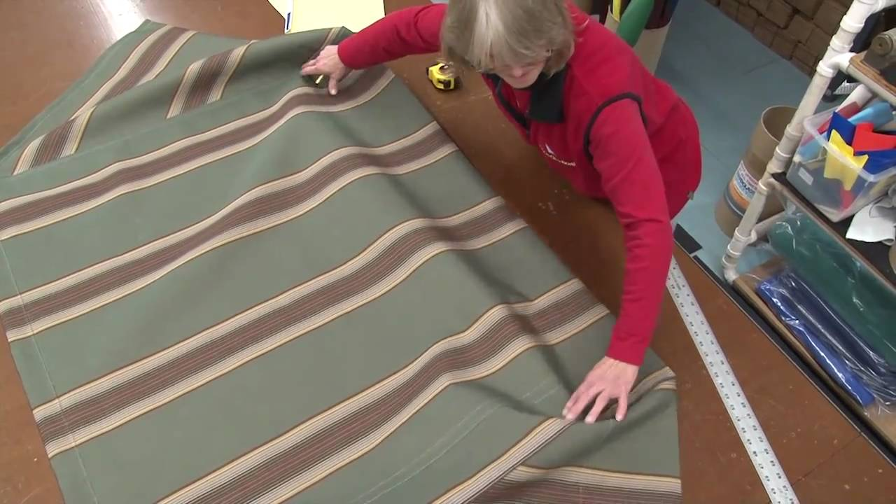 How To Make A Square Frame Awning With Tie Down Bar Youtube