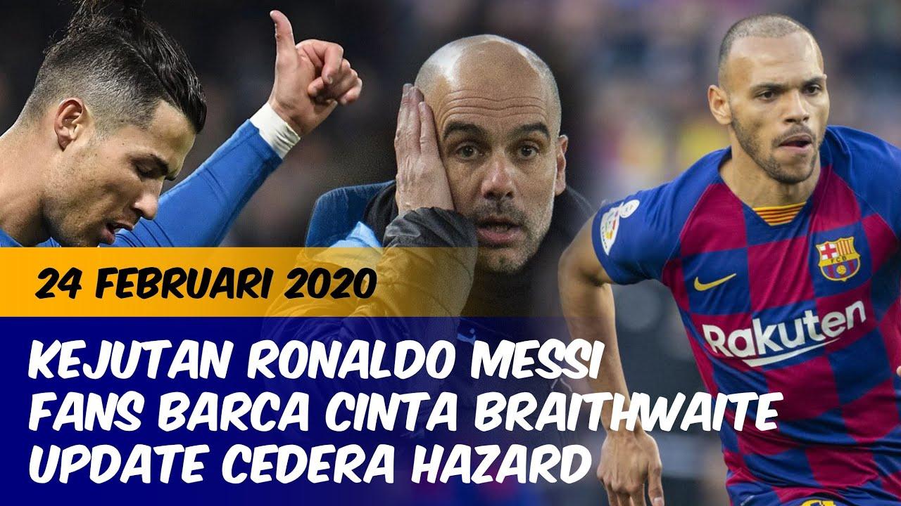 Fans Barcelona Mulai Cinta Martin Braithwaite  F F  E Update Cedera