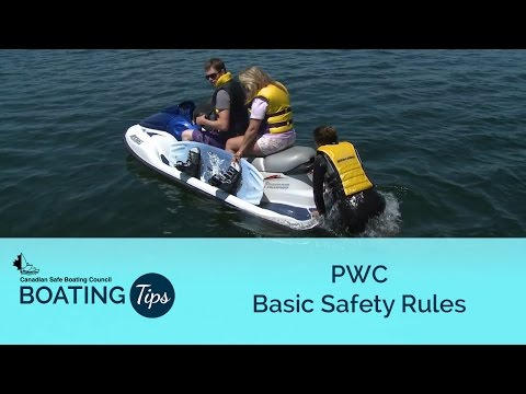 PWC Basic Safety Rules