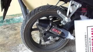 Yoshimura R55 Carbon New CBR 150 Lokal | Knalpot Racing Motoralap Exhaust