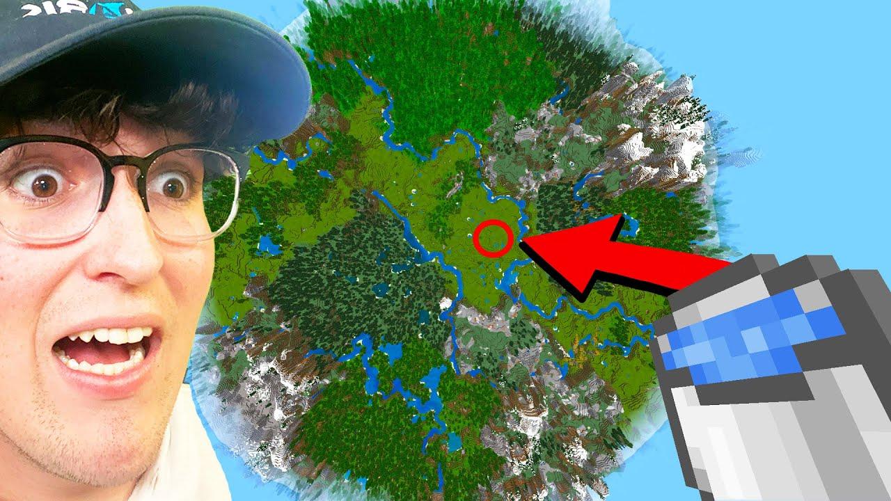 Falling 1,343,752 Blocks To Break A Minecraft Record