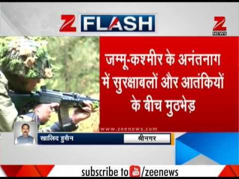 Kashmir: 3 LeT terrorists killed in Anantnag, encounter underway