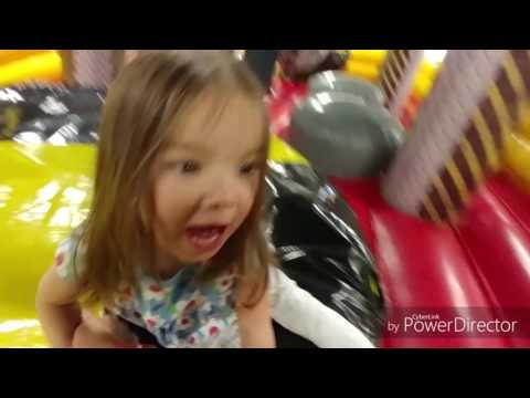 Big Time Fun Center in North Denver with the kids May 14, 2017