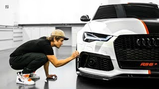 PICKING UP THE RS6, Behind the scenes!   VLOG² 147