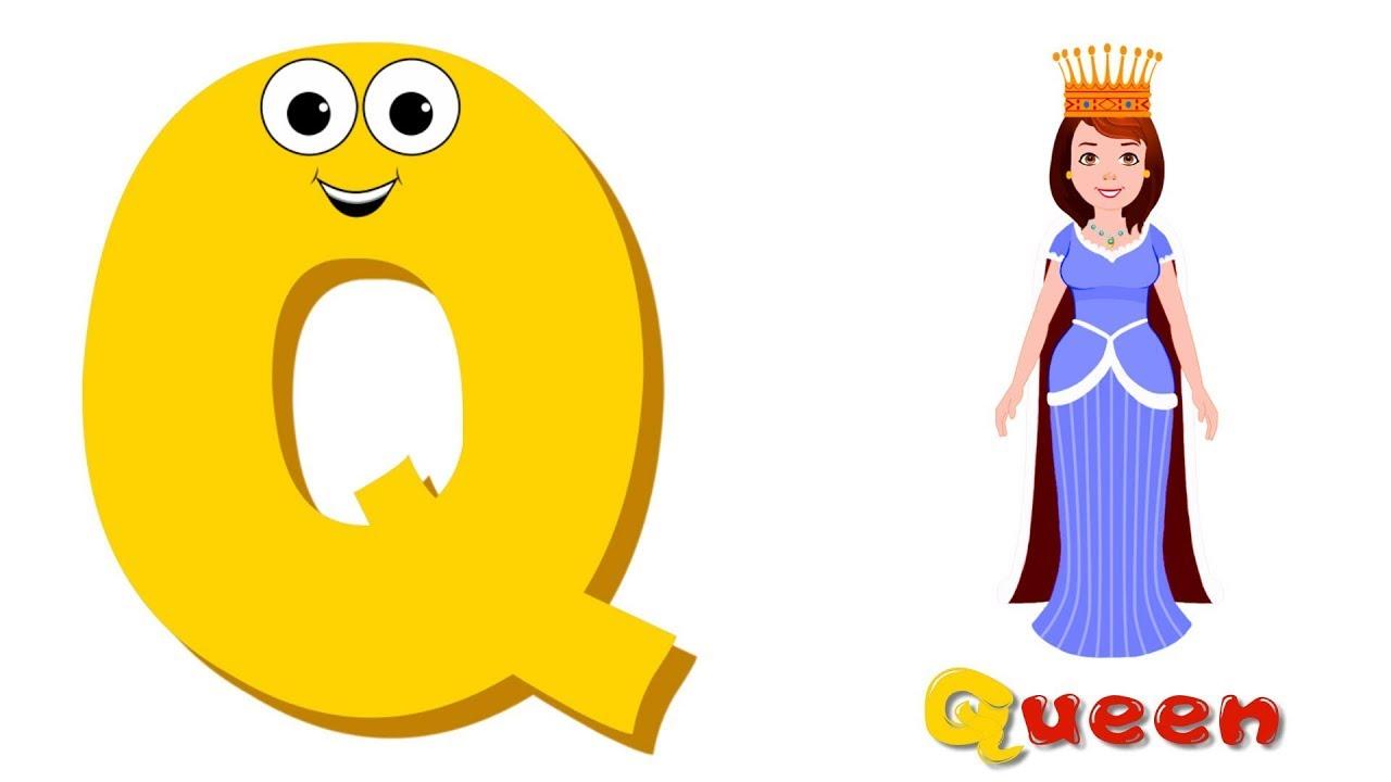 لعبة الحروف تعليم الحروف الانجليزية للأطفال حرف Q تعليم الاطفال Kids Learn Abc Youtube