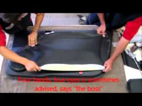 how to upholster a car door panel youtube. Black Bedroom Furniture Sets. Home Design Ideas