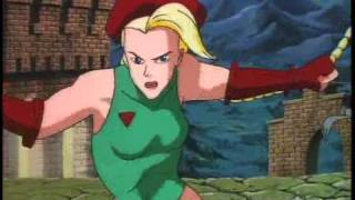 Street Fighter Cartoon DVD Trailer