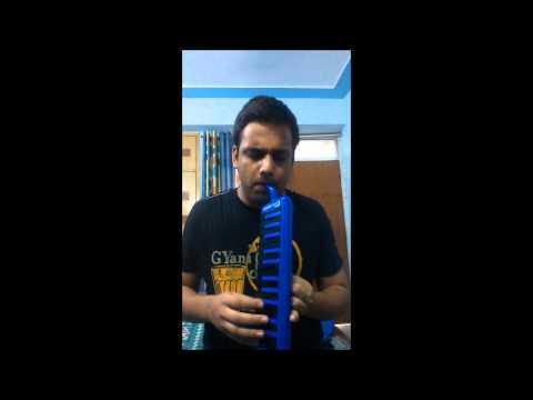 'Lag Jaa Gale' Melodica Version.. By Saurav Sharma