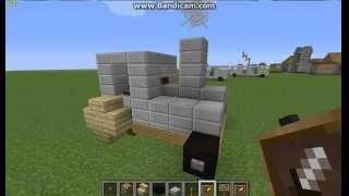 Как сделать трактор в майнкрафт (Bonus 3)(Тут я покажу как сделать трактор в майнкрафт., 2014-05-03T11:54:11.000Z)