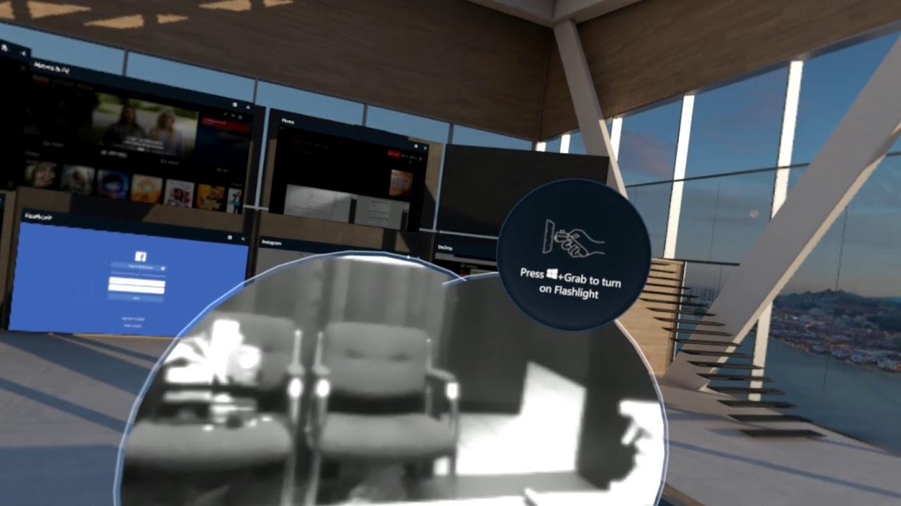 Windows Mixed Reality now lets you peek into the real world