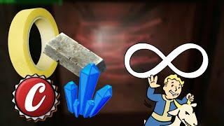 Recursos y Materiales INFINITOS/ILIMITADOS (Acero, Cristal, Fibras, Adhesivos & Más) Fallout 4