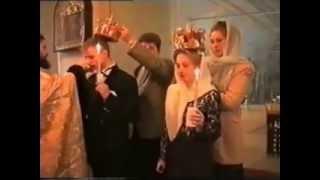 Таинство венчания. Москва, Новодевичий монастырь (31 01 1999 г.)