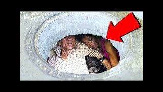 This Couple Has Been Living In A Sewer For 22 Years But Wait Till You See The Inside!