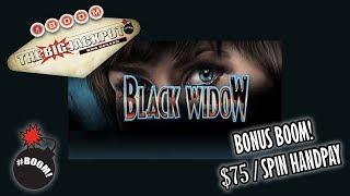 Black Widow Bonus Boom $75 a spin Handpay thumbnail