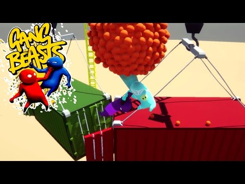 Gang Beasts - UFO [Unidentified Flying Orientals]