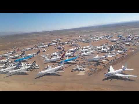 L1011 take off at Mojave airport, california