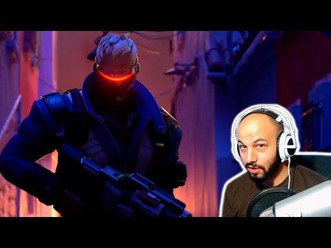 Corto animado de Overwatch: Heroe | Video Reaccion | Español