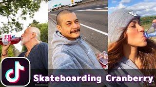 Skateboarding Drinking Cranberry Juice (Dreams - Fleetwood Mac)   TikTok Compilation