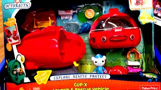 Octonauts Gup-x Launch And Rescue Vehicle With Captain Barnacle