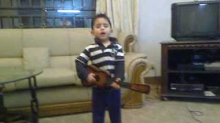 "Little ATIF Aslam,""""Saad  QURESHI""""    Tu janne Na ....2nd Volume"