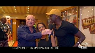 Gad ELMALEH, A.SYLLA et A.BELAIDI au Marrakech du rire