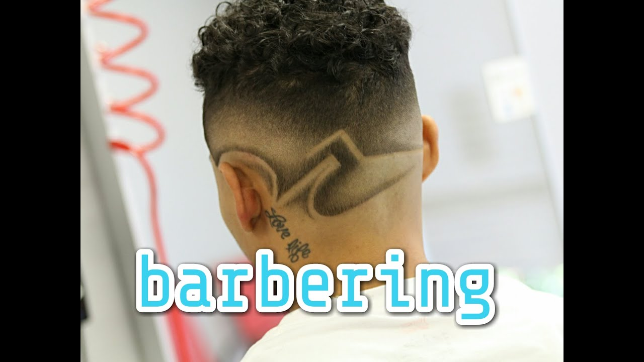 faded design haircut