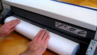 DesignJet Repairs - DesignJet 120NR & DesignJet 130NR load roll